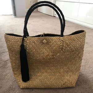 Bags - Large straw beach bag